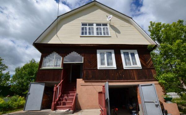 Жилой дом в д.Новопавловское рядом с водоемами(87 км от МКАД)